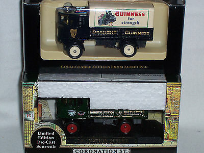 "2pc LLEDO DAYS GONE SL88 ""1931 DG4 SENTINEL 4 WHEEL DROPSIDE STEAM WAGON"""