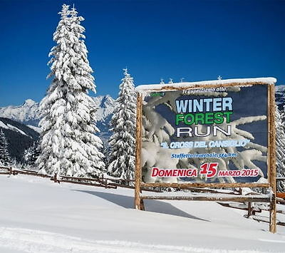 WINTER FIREST RUN  15 marzo 2015