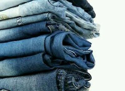 10 PC Wholesale Lot Womens Denim Jeans Great Brands Resale Free Shipping!