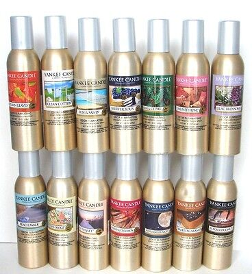 Yankee Candle Room Spray Concentrated~~You Choose x 1~~Odor Eliminating