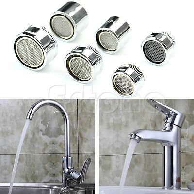 Kitchen Faucet Tap Water Saving Aerator Chrome Male/Female Nozzle Sprayer Filter