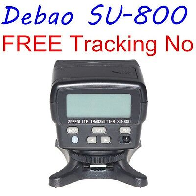 Debao SU800 SU-800 Wireless Speedlite Transmitter Commander for Nikon