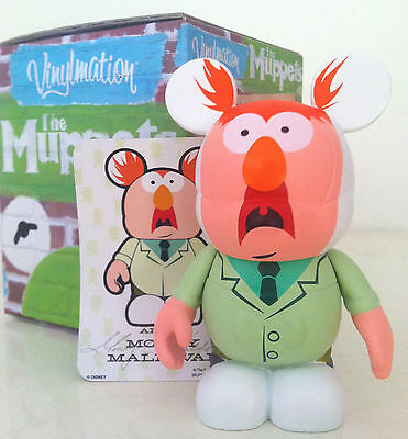 "DISNEY VINYLMATION 3"" MUPPETS SERIES 1 BEAKER 2010 COLLECTIBLE PARK TOY FIGURE"