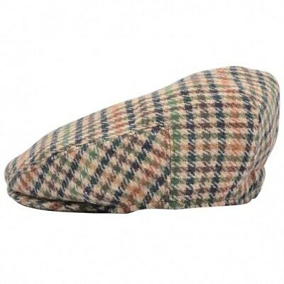 New Childrens Childs Boys Girl Kids Tweed Farmer Flat Cap Elasticated 48-52Cm