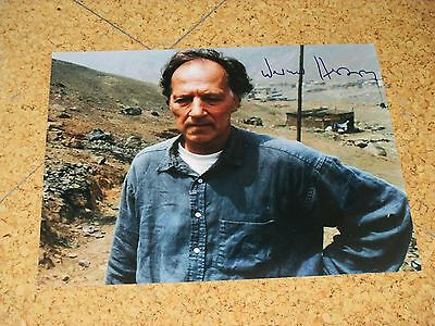 WERNER HERZOG handsigned 8x10 IN PERSON! Guaranteed!