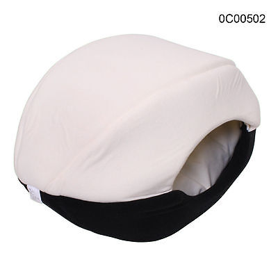 Dog Cat Cave Bed Pet Comfortable Soft Cuddly Sleeping Bed Black S Free Postage
