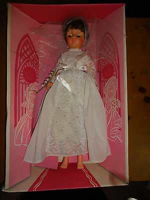 """DREAM BRIDE Vintage Eugene Doll #219 Jointed Rooted Hair 19"""" Original Box 50s"""