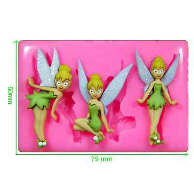 Disney Tinkerbell Fairy Silicone Mould by Fairie Blessings