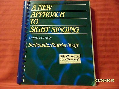 A New Approach to Sight-Singing by Gabriel Fontrier, Leo Kraft and Sol...