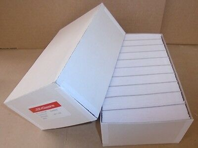 "Box of 1000 #3 Glassine stamp Envelopes 2 ½ "" x 4¼"" Westvaco Cenveo JBM storage"