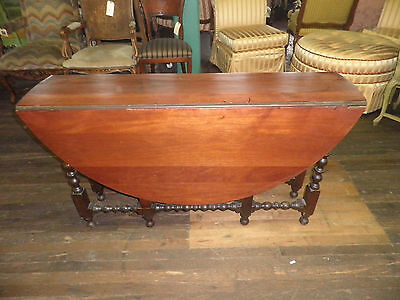 272A DROP LEAF TABLE, GATE LEG TABLE, EXTENDING TABLE, MAHOGANY DINING TABLE