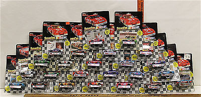 24 Pc Racing Champions StockCar NASCAR Stock Cars Diecast w/Card Display Stand