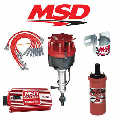 MSD 9017 Ignition Kit Digital 6AL/Distributor/Wires/Coil- Early Ford 289/302