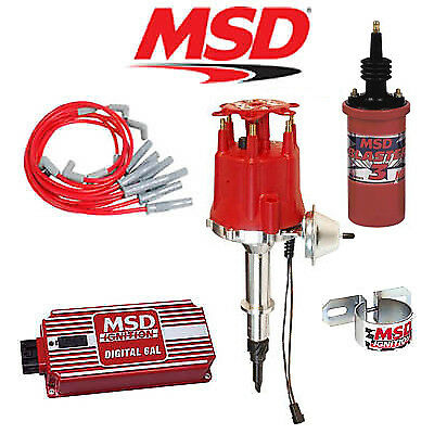 msd complete ignition kit digital al distributor wires msd 9009 ignition kit digital 6al distributor wires coil jeep 4 2l