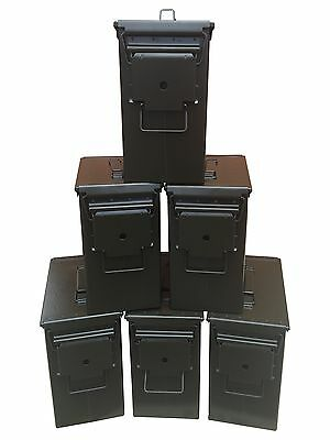 6 Tall 50 CAL Ammo Cans