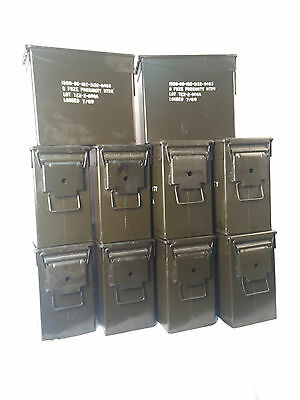 10 Tall 50 CAL Ammo Cans