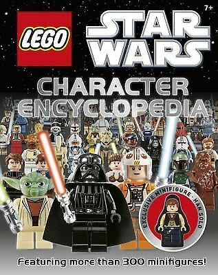 Lego Star Wars Character Encyclopedia with Exclusive LEGO® Star Wars® Minifigure