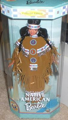 Fourth Edition Native American Barbie Doll of the World Collector 4th NRFB 1997