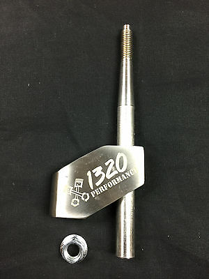 1320 Performance Adjustable Stainless steel shifter extender 10X1.25 thread