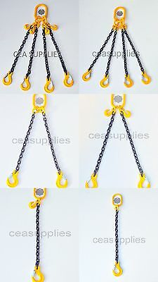 7mm 8mm 10mm 13mm Chain Sling 1 2 4 Leg Shortner Clevis Sling Hook  ID Lifting