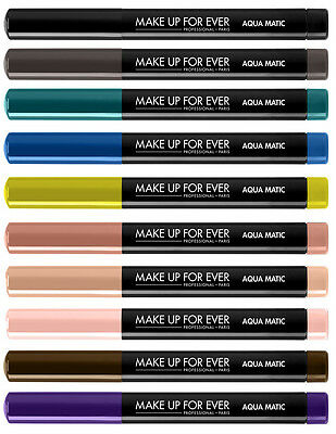 Make Up For Ever Aqua Matic Waterproof Glide-On Eye Shadow - Choose Your Shade