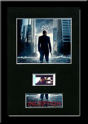 Inception Framed 35mm Mounted Film cells - filmcell movie