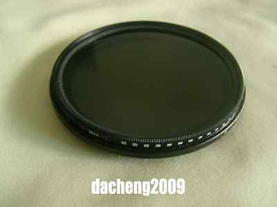 67mm Fader ND Filter Adjustable Neutral Density ND2 to ND400 Lens For Sony Nikon