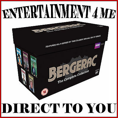 Bergerac - The Complete Collection- Series 1 2 3 4 5 6 7 8 & 9  *brand New Dvd*