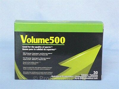 Volume 500 Pills Male Enhancement Increase Sperm Up to 500% Vmeolume500