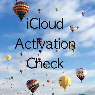 Find My Iphone Activation Lock On / Off Clean / Lost 100% Check Service
