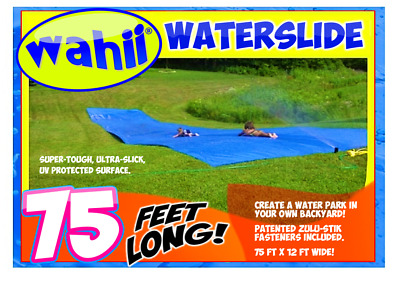 WAHII ® WATER SLIDE 50ft!  --12 Free Birthday Party Invitations with this order.