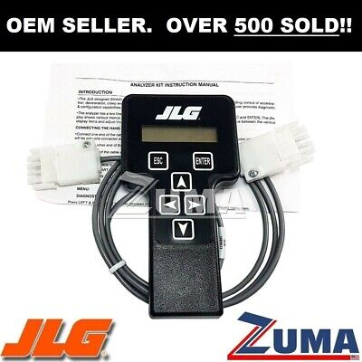 NEW JLG Analyzer / Diagnostic Tool  WITH INSTRUCTIONS - JLG  2901443 & 1600244