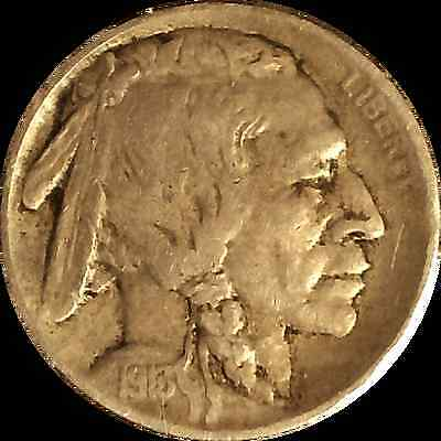 1913 5C Type 1 Buffalo Nickel (Indian Head)