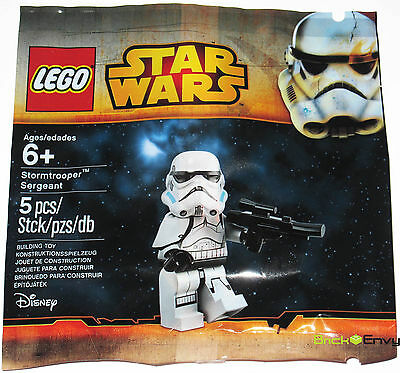2015 LEGO STAR WARS STORMTROOPER SERGEANT PROMO MINIFIGURE NEW SEALED POLYBAG
