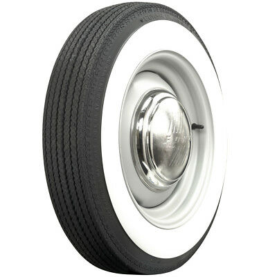 """560-15 COKER 2 3/4"""" WIDE WHITEWALL BIAS TIRE-Each (Perfect for VW Beetle)"""