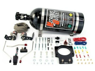 Nitrous Outlet Wet Plate Nitrous Kit - 98-02 F-Body LS1 FAST 90MM Plate 50-200HP