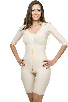 Full Body Suit with Bra and Sleeves Top Quality Compression Bodysuit for Ladies