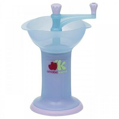 NUK Annabell Karmel Fresh Foods Baby Food Mill, Blue