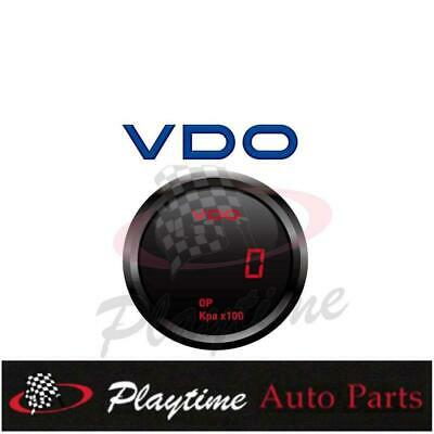 VDO Digital Oil Pressure 12V Gauge 4WD Holden Ford Toyota Nissan