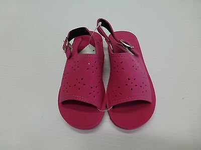 a0591044fe5a TODDLER GIRLS PINK Foam Sandals Shoes Size L (9-10) or XL (11-12 ...