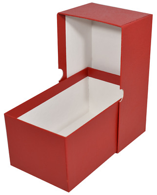 Currency Storage RED Box For Modern Regular Size US Notes Banknote Bill Holder