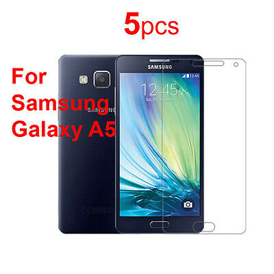 5x Ultra Clear Screen Protector Protective Film For Samsung Galaxy A5 SM-A500F