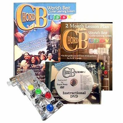 CHORD BUDDY Guitar Learning System and Practrice Aid  very fast shipping