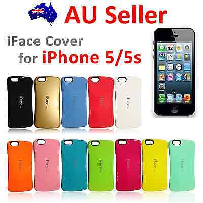 iFace Heavy Duty Shockproof Anti Shock Slim Case Cover for iPhone 5,5S,SE