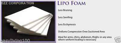 LIPOFOAM SHEETS TOP QUALITY  8X11 ( 3 pack) PERFECT FOR ALL LIPO SURGERY HEALING