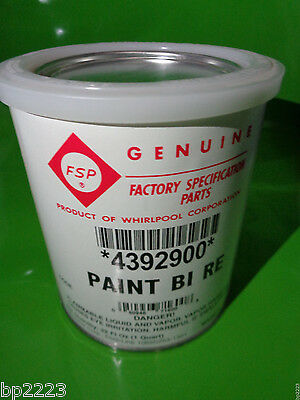WHIRLPOOL 4392900 UNCUT APPLIANCE PAINT Biscuit 1 QT.