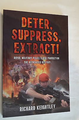 British Military Police Close Protection Deter Suppress Extract Reference Book