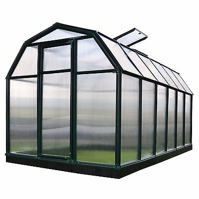 Rion EcoGrow 2 Twin Wall 6' x 12' Greenhouse (HG7012)