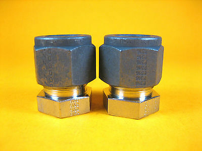 """Parker -  8 PNBZ-SS -  SS Cap, Tube Fitting, 1/2"""" (Lot of 2)"""