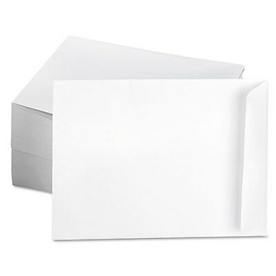 "450+ UNIVERSAL 6-1/2""x9-1/2"" White Kraft Catalog #63 Mailing Envelopes! UNV40104"